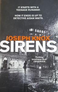 Josef Knox, sirens, Manchester Noir, Crime novel