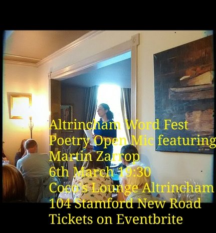 poetry open mic in march