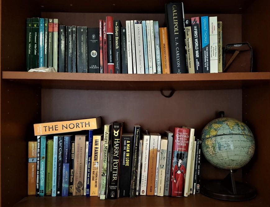 Anne's bookshelf
